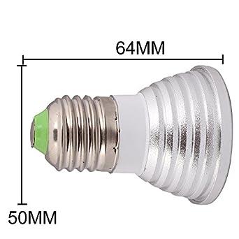 bestofferbuy ampoule ampoule lampe 16 couleurs led 3w rgb rgb 100 240v avec. Black Bedroom Furniture Sets. Home Design Ideas