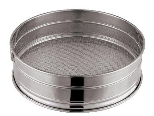 Paderno World Cuisine 8-5/8-Inch Stainless-Steel Fine Mesh Flour Sieve
