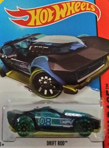 Hot Wheels 2014 Hw Race Black X-Raycers Drift Rod 173/250 - 1
