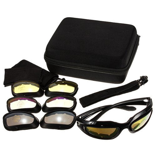 Top Brand Military Tactical Goggles Motorcycle Riding Glasses Sunglasses
