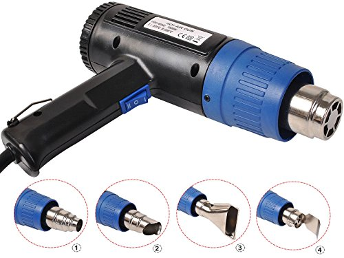 New-Heat-Gun-Hot-Air-Gun-Dual-Temperature4-Nozzles-Power-Tool-1500-W-Heater-Gun