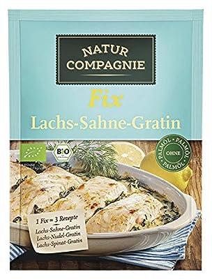Natur Compagnie Bio Fix für Lachs-Sahne-Gratin (1 x 40 gr) von Natur Compagnie GmbH - Gewürze Shop