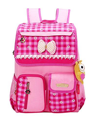 SellerFun-Kid-Child-Girl-Princess-Style-Waterproof-School-Bag-Backpack