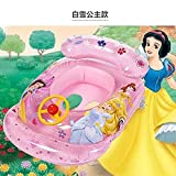 Baby Swim Boat Kids Float Ring Toy Kawaii Thomas/Princess/Bear/Disney Cars Swim Pool Outdoor Pool Toy Water Toys Inflatable Seat Tube Accessories,4 Models Beach Ball Toy For 1-6 Years