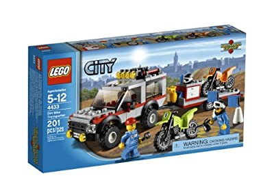 LEGO City Town Dirt Bike Transporter 4433 from LEGO
