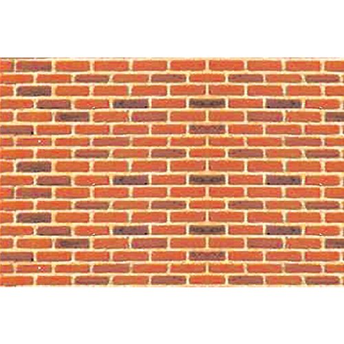 JTT Scenery Products Plastic Pattern Sheets: Brick