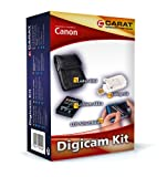 Carat Electronics Accessory Set for Canon PowerShot S100 Battery / USB Charger / Case / Protective Display Film