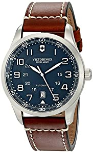 Victorinox Men's 241507 AirBoss Analog Display Swiss Automatic Brown Watch