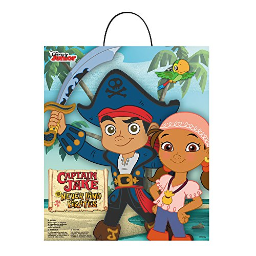 Disguise 88695 Captain Jake Essential Treat Bag Costume,