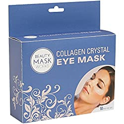 Beauty Mask Works Collagen Crystal Eye Mask, 10 Count