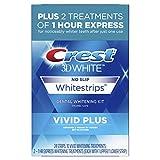 Crest 3D White Whitestrips Vivid Plus