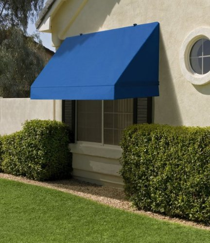 Sunsational Classic Awning - 8 Foot - Pacific Blue (Pacific Blue) (8' Long)