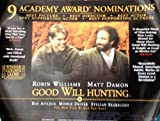 Good Will Hunting: Review Quad Film Poster