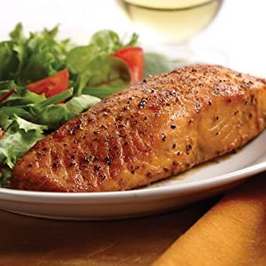 Omaha Steaks 4 (6 oz.) Marinated Salmon Fillets