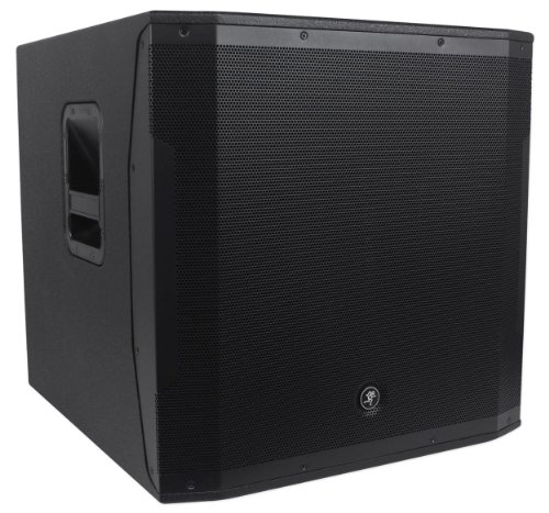 """Mackie Srm1850 1600W 18"""" Powered Subwoofer With Smart Protecttm Dsp For Awesome Sound Quality And System Protection And Eliminating Distortion!"""