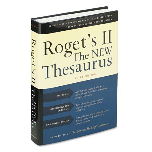 Houghton Mifflin - Roget'S Ii: The New Thesaurus, Hardcover, 1,216 Pages H02033 (Dmi Ea