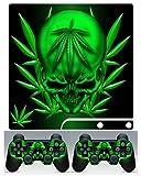 PS3 Slim Skin Weed 420