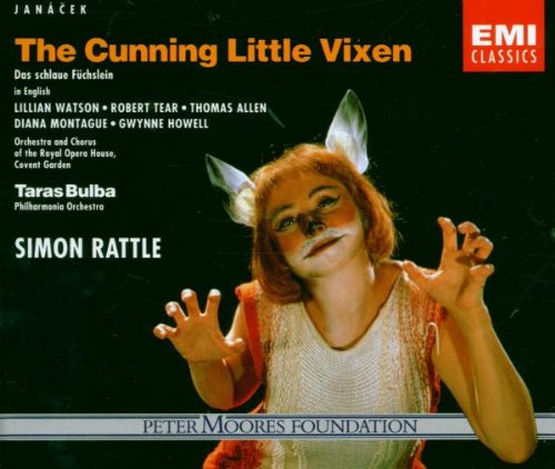 Janácek - The Cunning Little Vixen Lilian Watson, Diana Montague, Thomas Allen,... by Leos Janácek, Simon Rattle, Lilian Watson, Thomas Allen, Gwynne Howell, Robert Tear Diana Montague and Covent Garden The Orchestra and Chorus of Royal Opera House
