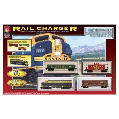 Life Like Rail Charger Diesel Freight Set HO Scale