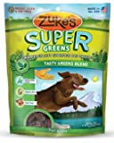 Zuke's Supers Nutritious Soft Superfood Dog Treats, Tasty Greens Blend, 6-Ounce