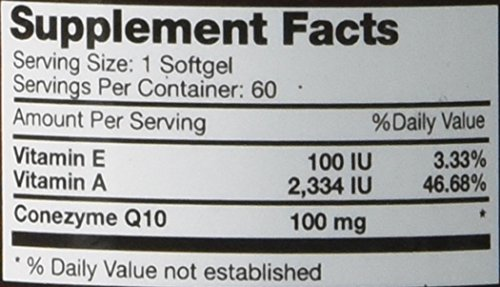 BRI-Nutrition-COQ10-Ubiquinone-26x-Higher-Total-Coenzyme-Q10-COQSOL-Absorption-than-normal-COQ10-100mg-Maximum-Strength-Supplement-60-Day-Supply-60-Softgels