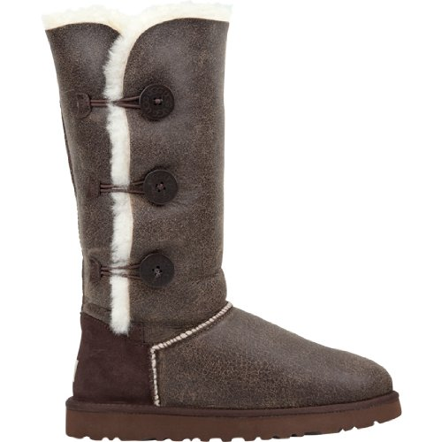 UGG Bailey Button Triplet Bomber Womens Boots