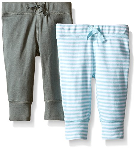 Carter's Baby Boys' 2 Pack Pants (Baby) - LightBlue - 3M