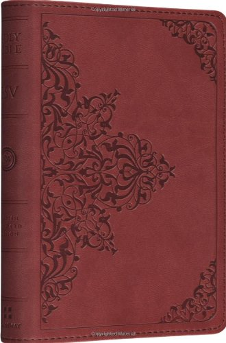 ESV Compact Bible (TruTone®, Nutmeg, Filigree Design)