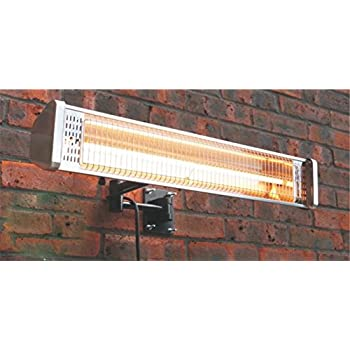 AZ Patio Heaters Electric Patio Heater with Remote, Wall Mounted