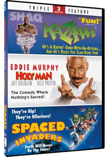 Cover art for  Holy Man & Kazaam + Spaced Invaders - Triple Feature