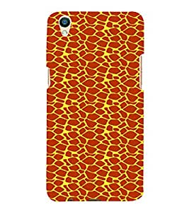 PrintVisa Corporate Print & Pattern Animal Print 3D Hard Polycarbonate Designer Back Case Cover for Oppo F1 Plus