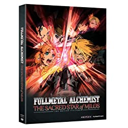 Fullmetal Alchemist Brotherhood: The Star of Milos Movie