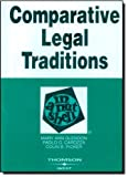 img - for By Mary Ann Glendon Glendon, Carozza, and Picker's Comparative Legal Traditions in a Nutshell, 3d (3rd Third Edition) [Paperback] book / textbook / text book