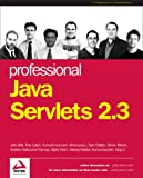 img - for Professional Java Servlets 2.3 book / textbook / text book