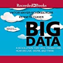 Big Data: A Revolution That Will Transform How We Live, Work, and Think Hörbuch von Viktor Mayer-Schöberger, Kenneth Cukier Gesprochen von: Jonathan Hogan