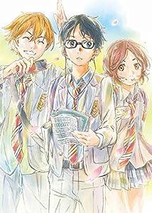 【Amazon.co.jp限定】四月は君の嘘 1(完全生産限定版)(クリアブックマーカー付) [Blu-ray]