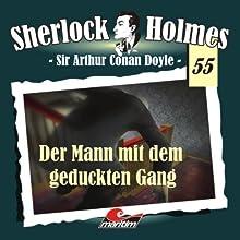 Der Mann mit dem geduckten Gang (Sherlock Holmes 55) Hörspiel von Arthur Conan Doyle Gesprochen von: Christian Rode, Peter Groeger, Johannes Berenz