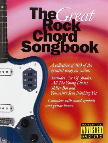 Great Rock Chord Songbook (Big Guitar Chord Songbook)