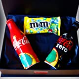 The World Cup Limited Edition Aluminium Coca Cola & Coke Zero Bottles with Limited Edition M&M's - Collectors Box- By Moreton Gifts