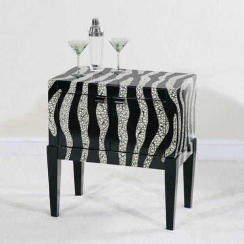 Cheap Ultimate Accents Contempo Zebra Console Table (40099CO)