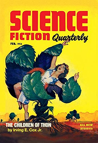 Science Fiction Quarterly: Killer Plants 20x30 poster