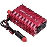 Luxebell®インバーター/power inverter 300W シガーソケット 車載充電器 USB 2ポート ACコンセント 2口 DC12VをAC100Vに変換