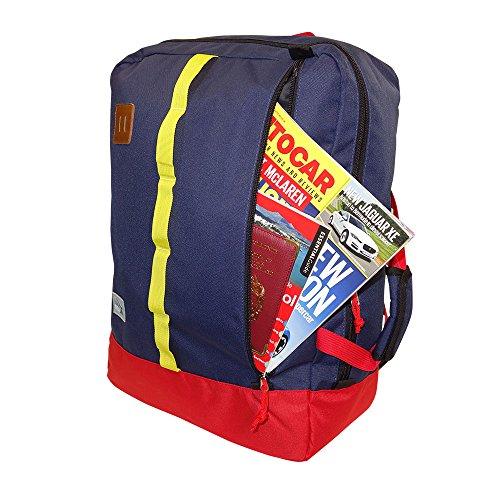 Cabin max toulouse bagaglio a mano zaino 50x40x20cm blu for Bagaglio a mano di american airlines