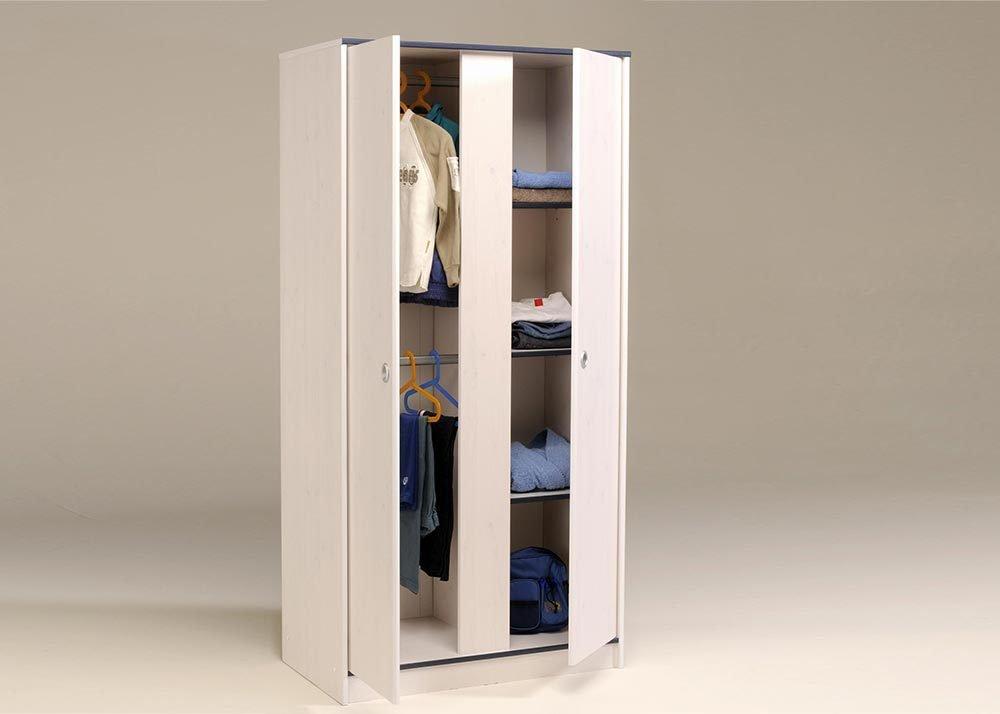 Jumbo-Möbel Kleiderschrank SMOOZY 11 in Weiß & Pink oder Blau, B: 90 cm bestellen