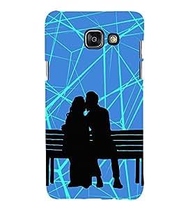 Kiss in Public Kissing Cute Fashion 3D Hard Polycarbonate Designer Back Case Cover for Samsung Galaxy A7 (2016) :: Samsung Galaxy A7 2016 Duos :: Samsung Galaxy A7 2016 A710F A710M A710FD A7100 A710Y :: Samsung Galaxy A7 A710 2016 Edition
