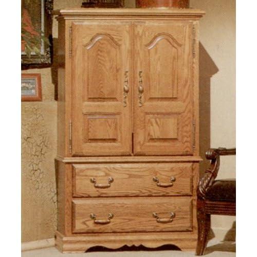 Wardrobe closet armoire plans