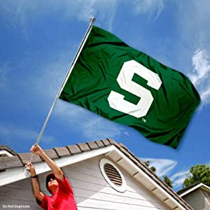 Buy MSU Michigan State Spartans University Large College Flag by College Flags and Banners Co.