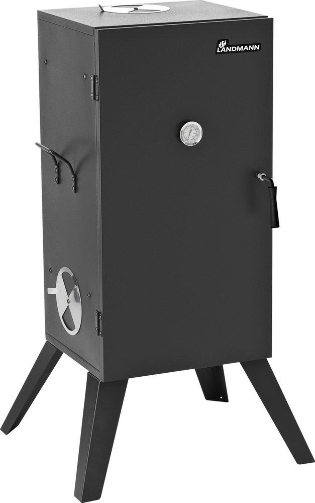 Räucherofen Schwarz, (Bxtxh) : 53,0×48,5×101,5cm jetzt kaufen