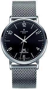 Junghans Herren-Armbanduhr XL MILANO FUNK Analog Edelstahl 030/4044.44