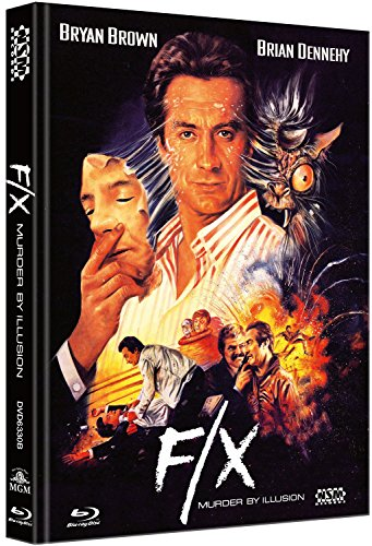 F/X Tödliche Tricks - uncut (Blu-Ray+DVD) auf 444 limitiertes Mediabook Cover B [Limited Collector's Edition]